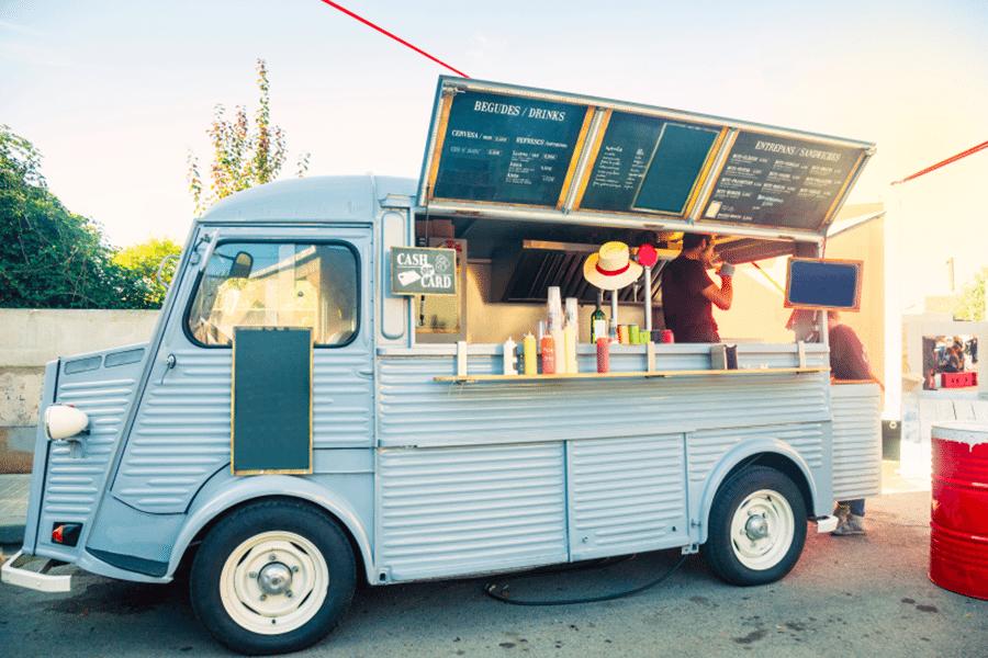 food truck se zdravým jídlem