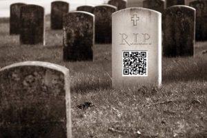 napad napodnikanie - digitalny nahrobok